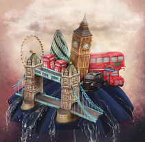 Ilustraciones 2013 (personal). A Illustration project by Mel Trasfi - 03-01-2014
