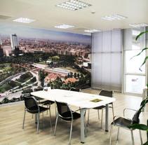 OFICINAS VALENCIA PARQUE CENTRAL (ESTACIÓN AVE). Un proyecto de Diseño, Arquitectura, Diseño gráfico, Arquitectura interior y Diseño de interiores de Virginia Lorente Alegre - 09-01-2012