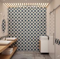 Rehabilitación Cuarto de Baño. Un proyecto de 3D, Arquitectura interior y Diseño de interiores de Alfonso Perez Alvarez         - 21.08.2015