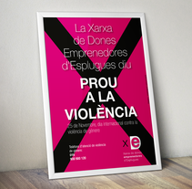 Prou a la Violència XDE. A Advertising, and Graphic Design project by Carles Ivanco Almor         - 02.08.2015