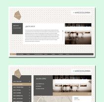 Arco Colombia  - website. Un proyecto de Diseño Web y Desarrollo Web de César Martín Ibáñez  - 26-08-2015