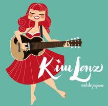 Kap Bambino y Kim Lenz. . Un proyecto de Ilustración, Packaging y Caligrafía de Leonor Sanahuja - Viernes, 28 de agosto de 2015 00:00:00 +0200