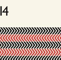 FilmForum - Identidad y diseño de un folleto en dos colores y dos idiomas para el FimlForum Festival 2014. Un proyecto de Diseño gráfico de Diego García de Enterría Díaz - 30-08-2015