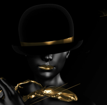 GOLDEN BLACK. A 3D, Br, ing, Identit, Art Direction, Graphic Design, and Motion Graphics project by Melo  - Sep 03 2015 12:00 AM