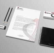 Papelería Aykros S.L.. Um projeto de Br, ing e Identidade e Design gráfico de Alex Goienetxea - 24-03-2014