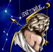 Sagittarius. A Illustration project by Georgina Yuste Galan         - 05.09.2015