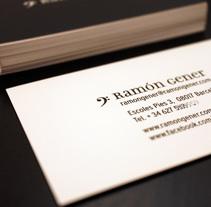Ramón Gener. Un proyecto de Diseño y Marketing de Red Vinilo  - 07-11-2012