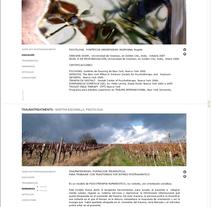 Martha Escamilla /// #Web #Fotografía #nature. A Photograph, and Web Design project by Silvia Miralles Badia         - 18.09.2008