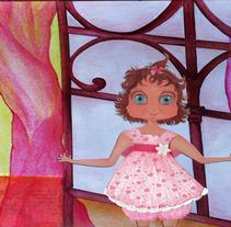 Ilustración  editorial -Cuento Infantil Ilustrado.. Un proyecto de Ilustración, Diseño editorial y Diseño gráfico de Virginia Picón Aguilar         - 19.04.2015