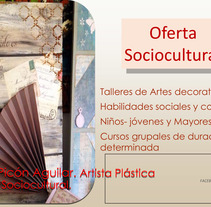 Oferta socio cultural. A Crafts, Education, Fine Art, Collage, and Video project by Virginia  Picón Aguilar - 20-09-2015