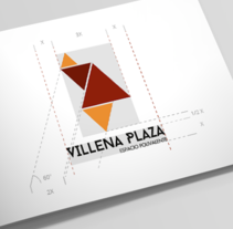 Villena Plaza. Identidad Corporativa. A Br, ing, Identit, Graphic Design, and Web Design project by Diego Equis De         - 22.09.2015