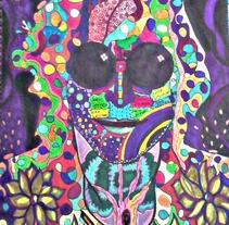Dibujo de John Lennon cantante de The beatles 70$. Un proyecto de Diseño, Ilustración y Bellas Artes de carmenanemona         - 23.09.2015