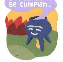 Felicitación navideña. A Illustration, and Collage project by Pablo Burgueño         - 23.09.2015