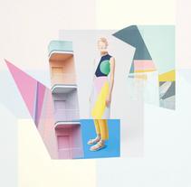 Collage Moodboard. Um projeto de Ilustração, Moda, Design gráfico e Colagem de bibat_studio         - 27.09.2015