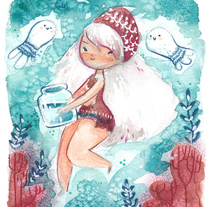 Ghost of water. A Illustration, and Fine Art project by Lydia Sánchez Marco - Sep 29 2015 12:00 AM