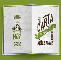 Cervexería NÓS. A Illustration, Art Direction, Br, ing, Identit, and Graphic Design project by TheTrendingMarket - Oct 06 2015 12:00 AM