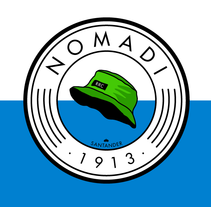 Identidad - Nomadi (Real Racing Club). A Design, Br, ing&Identit project by Diego Von Trier - 07-10-2015