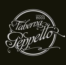 Geppetto logos y tarjetas. Un proyecto de Br, ing e Identidad y Diseño gráfico de Ricardo García Lumbreras - 09-10-2015