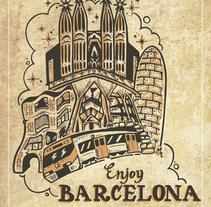 Enjoy Barcelona!. Um projeto de Design de Victor Gomez de Marcos - 19-10-2015