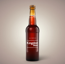 Kingdon Beer. A Art Direction, Design, and Packaging project by Diego   de los Reyes - Oct 21 2015 12:00 AM