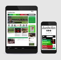 Danbolin: diseño web. A Web Design project by Andrea Maestro         - 22.10.2015