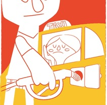 ilustraciones abc de la banca. A Illustration, Art Direction, and Character Design project by kapitan ketchup - 26-10-2015