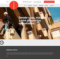 SERVIALT. Un proyecto de Diseño Web de La Teva Web Diseño Web  - 26-10-2015