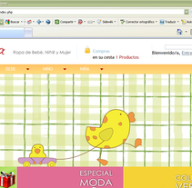 mimamayyomoda.com. Um projeto de Web design e Desenvolvimento Web de Gema R. Yanguas Almazán         - 30.11.2010