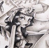 The Mummy . Un proyecto de Ilustración de Elisabeth Castro Martínez - 31-10-2015