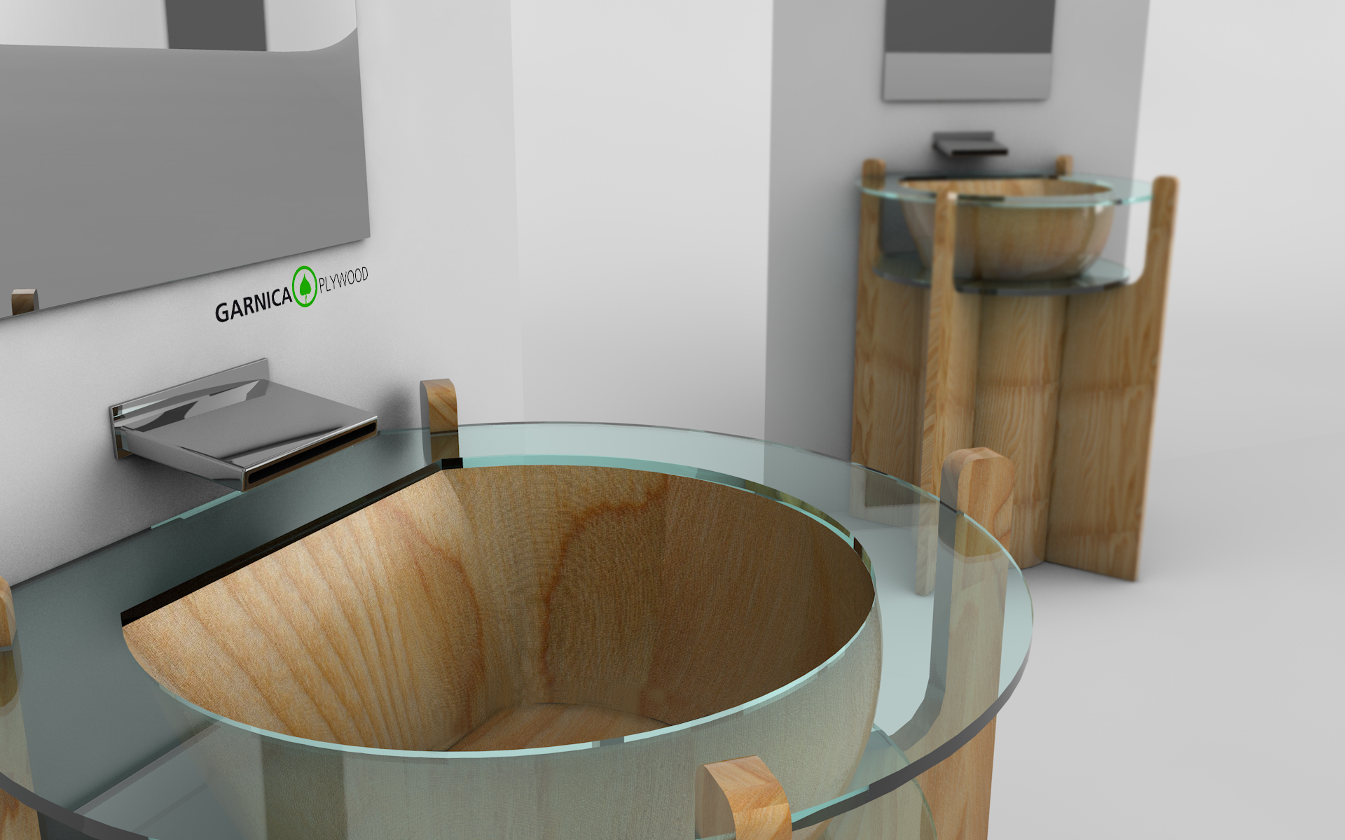 lavabo garnica plywood domestika. Black Bedroom Furniture Sets. Home Design Ideas