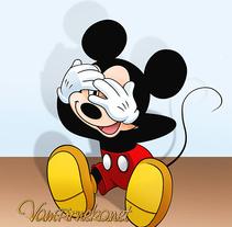 Three Wise Mickey. Un proyecto de Ilustración y Diseño de personajes de Ana del Valle Seoane - 09-04-2015