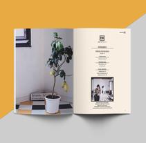 IN · Inspiración en interiores con personalidad.. Un proyecto de Diseño, Diseño editorial, Diseño gráfico, Diseño de interiores y Tipografía de Ana San José Rodríguez - 14-11-2015