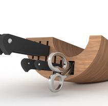 Cil / Cuchillero. A Product Design project by Carlos López Cumplido         - 17.02.2011