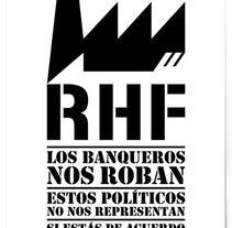 Proyecto de graffitis con plantilla en ciudad de Barcelona. Plantilla.. A Graphic Design project by Uri          - 19.11.2015