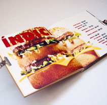 Super Size Me: El libro del documental. A Editorial Design, and Graphic Design project by Sonia López Serrano         - 25.05.2014