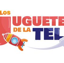 """Logo """"Los juguetes de la Tele"""". Un proyecto de Diseño gráfico de Marta de Carlos-López         - 19.11.2015"""