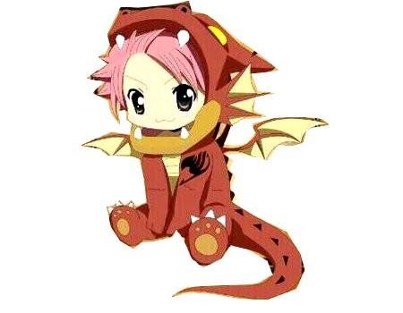 xD Natsu de Fairy Tail | Domestika