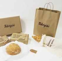 Panadería Teboyas. Um projeto de Design gráfico de Nerea Suárez         - 01.12.2015