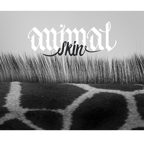 Animal Skin - Caligrafía Gótica. A Design, Graphic Design, T, pograph, and Calligraph project by Scherezade          - 01.12.2015
