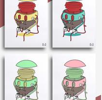 Eat your own insanity | comete tu propia locura | ilustración y marca. Un proyecto de Ilustración de Saúl Arribas Miguel - 01-12-2015