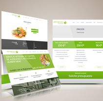 Web Alergenos Online. Un proyecto de Diseño Web de Joaquim Latas         - 02.12.2015