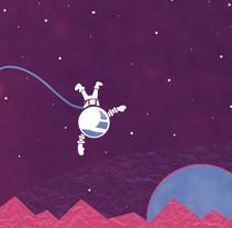 """Para mi proyecto final me he basado en la canción """"On Melancholy Hill""""de Gorillaz, que me encanta!  https://www.youtube.com/watch?v=04mfKJWDSzI. Un proyecto de Artesanía, Diseño e Ilustración de M.Isabel Martínez - Domingo, 06 de diciembre de 2015 00:00:00 +0100"""
