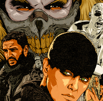 MAD MAX Fury Road. A Illustration, and Art Direction project by CranioDsgn          - 06.12.2015