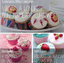 Concurso Miss Cupcake · Dr. Oetker Repostería . Um projeto de Br e ing e Identidade de Begoña Vilas         - 31.10.2013
