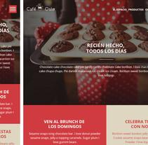 Mi Proyecto Web Responsive Café Oslo. Un proyecto de Desarrollo Web de Sandra Mora Ayala         - 03.01.2016
