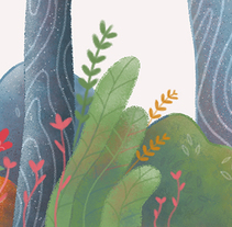 Autumn Forest. Um projeto de Ilustração de Rocio Sanchez         - 20.12.2015