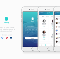 Ghosty. A Interactive Design, and UI / UX project by Jokin Lopez - Dec 21 2015 12:00 AM