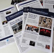 Revista DiócesisMálaga. Um projeto de Design editorial de Encarni Mármol         - 31.03.2014