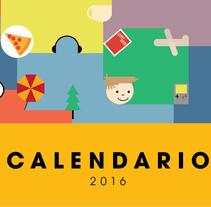 Calendario 2016 para Minsan Soluciones. Un proyecto de Diseño e Ilustración de J.J. Mínguez - 27-12-2015