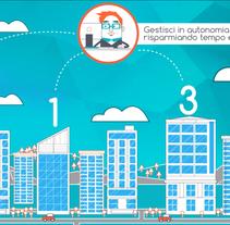 Vídeo de presentación de la empresa. A Design, Motion Graphics, Animation, and Graphic Design project by Flavio Marrone         - 30.12.2015